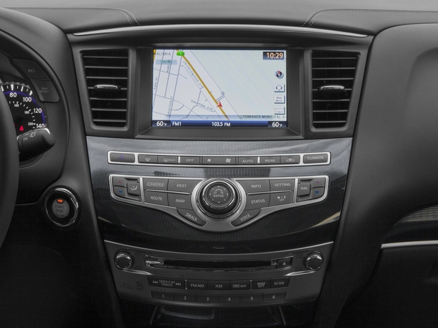 2018 INFINITI QX60 Base Price FWD Pricing stereo system