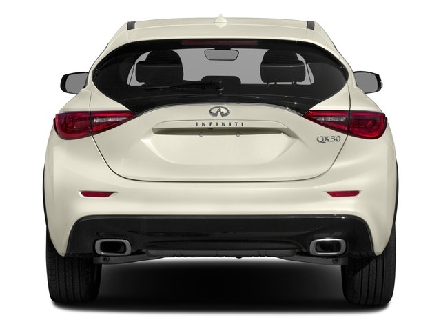 2018 INFINITI QX30 Base Price Luxury AWD Pricing rear view