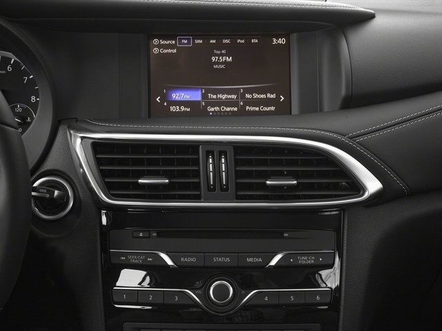 2018 INFINITI QX30 Base Price Luxury AWD Pricing stereo system