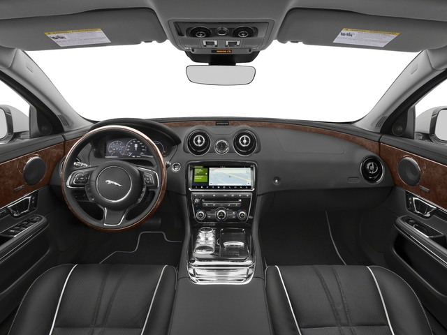 2018 Jaguar XJ Pictures XJ XJ Supercharged RWD photos full dashboard