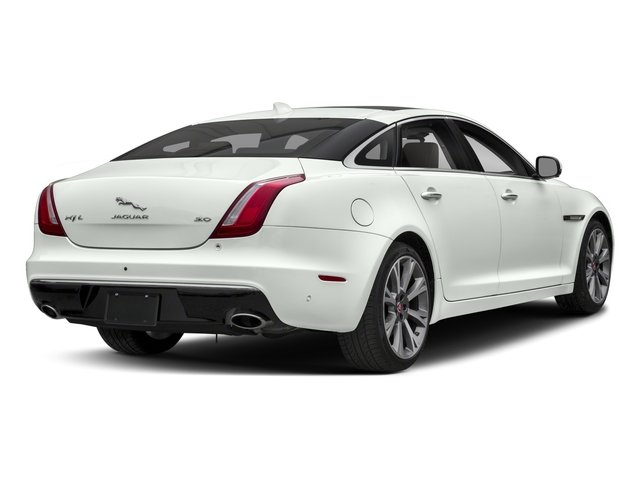 2018 Jaguar XJ Base Price XJL Portfolio RWD Pricing side rear view