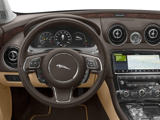 2018 Jaguar XJ Base Price XJL Portfolio RWD Pricing driver's dashboard