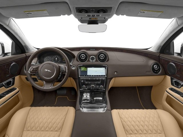 2018 Jaguar XJ Base Price XJL Portfolio RWD Pricing full dashboard