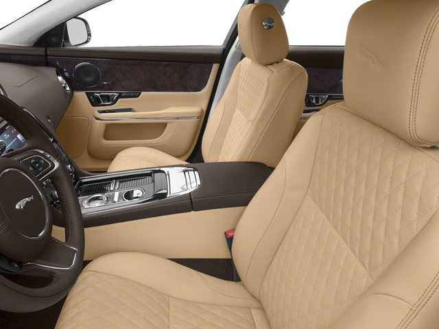 2018 Jaguar XJ Base Price XJL Portfolio RWD Pricing front seat interior