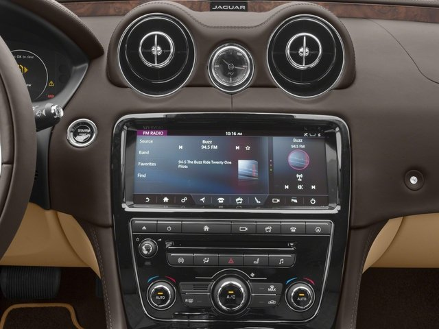 2018 Jaguar XJ Base Price XJL Supercharged RWD Pricing stereo system