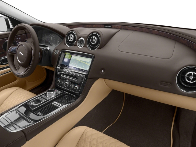 2018 Jaguar XJ Base Price XJL Portfolio RWD Pricing passenger's dashboard