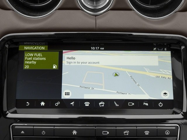2018 Jaguar XJ Base Price XJL Portfolio RWD Pricing navigation system