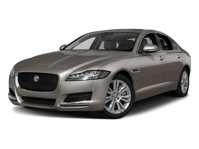 2018 Jaguar XF Base Price Sedan 35t Portfolio Ltd Edition AWD *Ltd Avail* Pricing side front view