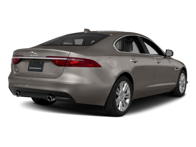 2018 Jaguar XF Base Price Sedan 20d AWD Pricing side rear view