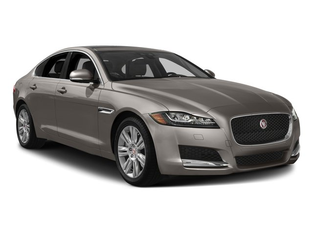 2018 Jaguar XF Pictures XF Sedan 4D 25t AWD photos side front view