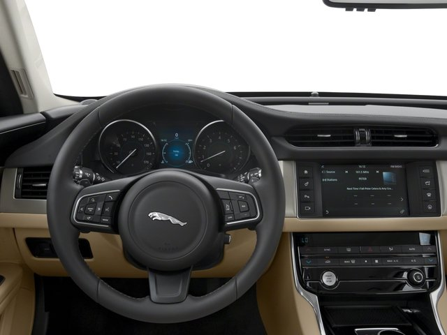 2018 Jaguar XF Base Price Sedan 20d AWD Pricing driver's dashboard