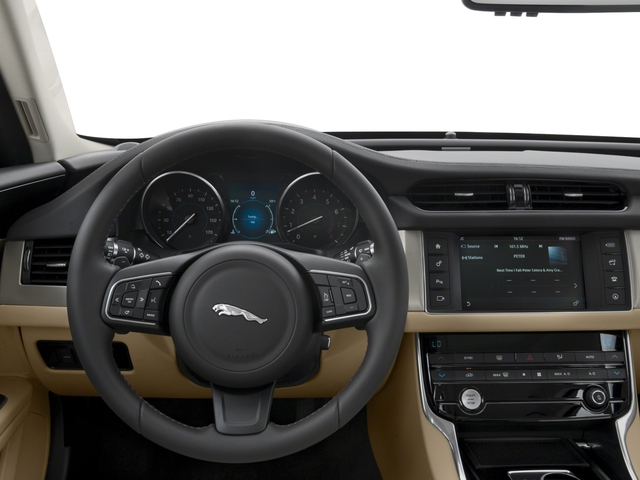 2018 Jaguar XF Pictures XF Sedan 20d Premium AWD photos driver's dashboard