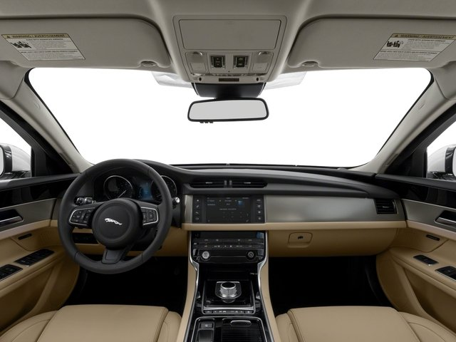 2018 Jaguar XF Pictures XF Sedan 25t Premium AWD photos full dashboard