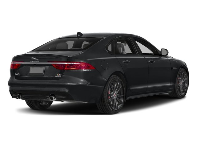 2018 Jaguar XF Pictures XF Sedan S AWD photos side rear view