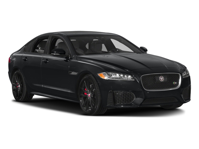 2018 Jaguar XF Prices and Values Sedan 4D S side front view
