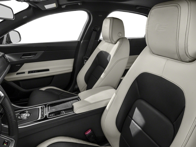 2018 Jaguar XF Prices and Values Sedan 4D S front seat interior