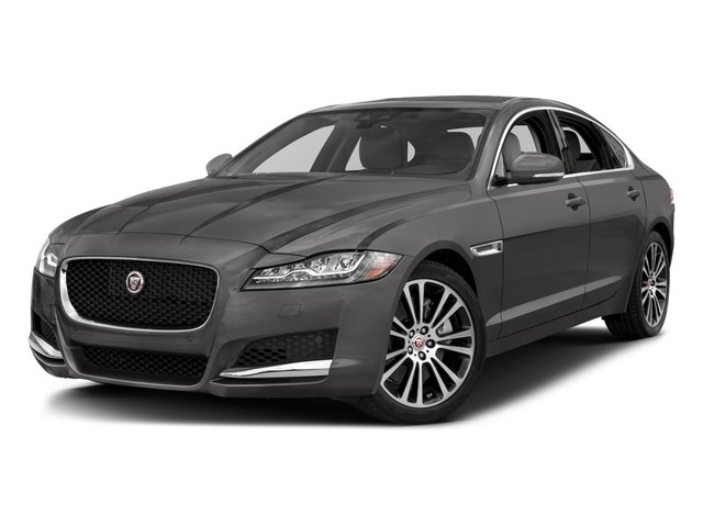 2018 Jaguar XF Base Price Sedan 25t Prestige AWD Pricing side front view