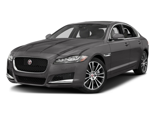 2018 Jaguar XF Pictures XF Sedan 25t Prestige RWD photos side front view