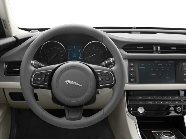 2018 Jaguar XF Base Price Sedan 25t Prestige AWD Pricing driver's dashboard