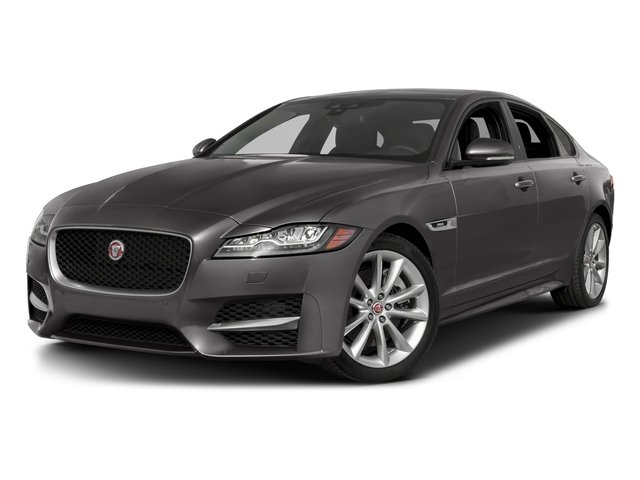 2018 Jaguar XF Pictures XF Sedan 35t R-Sport AWD *Ltd Avail* photos side front view