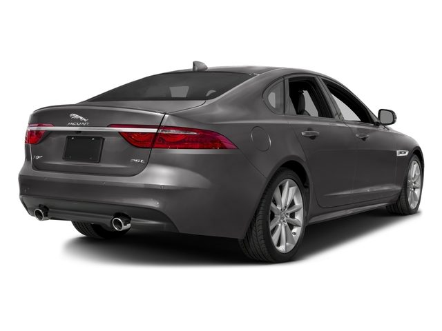 2018 Jaguar XF Pictures XF Sedan 25t R-Sport AWD photos side rear view
