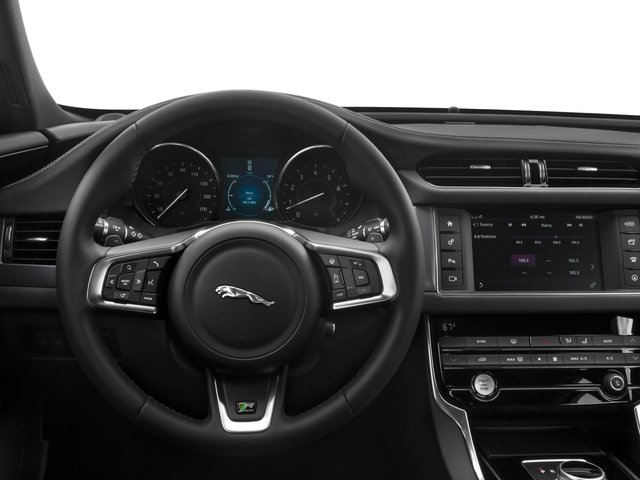 2018 Jaguar XF Base Price Sedan 20d R-Sport RWD Pricing driver's dashboard