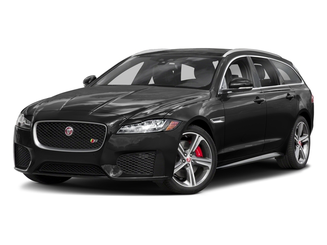 2018 Jaguar XF Base Price Sportbrake First Edition AWD Pricing side front view