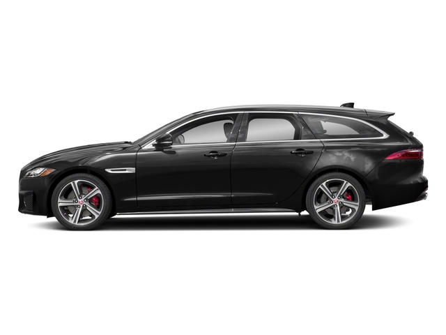 2018 Jaguar XF Pictures XF Sportbrake First Edition AWD photos side view