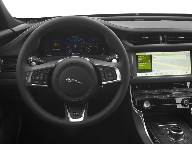 2018 Jaguar XF Pictures XF Wgn 4D Sportbrake First Edition AWD photos driver's dashboard