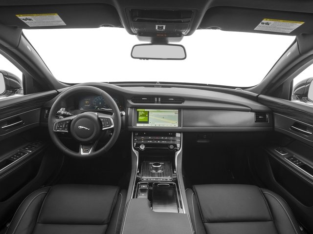 2018 Jaguar XF Prices and Values Wgn 4D Sportbrake First Edition AWD full dashboard