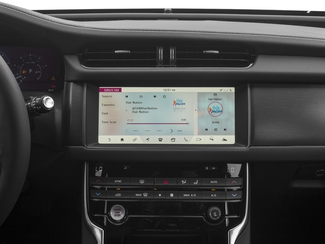 2018 Jaguar XF Base Price Sportbrake First Edition AWD Pricing stereo system