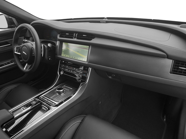 2018 Jaguar XF Prices and Values Wgn 4D Sportbrake First Edition AWD passenger's dashboard