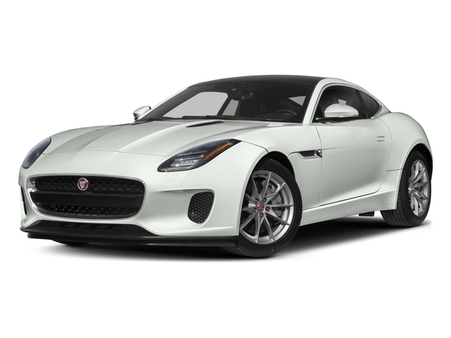 2018 Jaguar F-TYPE Base Price Coupe Auto 380HP Pricing side front view