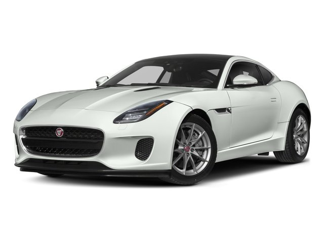 2018 Jaguar F-TYPE Pictures F-TYPE Coupe Auto 340HP photos side front view