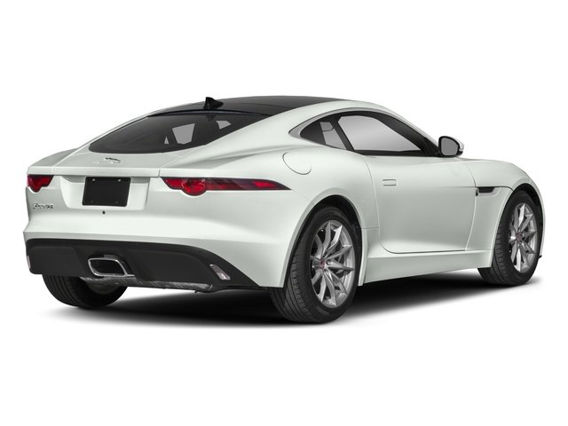 2018 Jaguar F-TYPE Base Price Coupe Auto 380HP Pricing side rear view