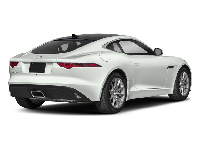 2018 Jaguar F-TYPE Pictures F-TYPE Coupe Auto 340HP photos side rear view
