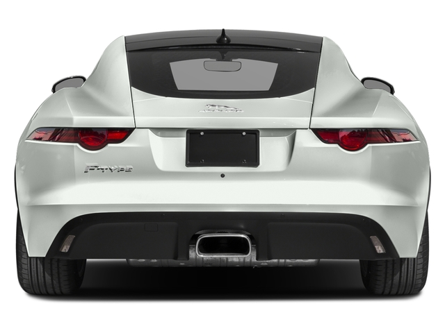 2018 Jaguar F-TYPE Base Price Coupe Auto 380HP Pricing rear view