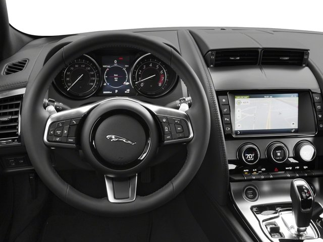 2018 Jaguar F-TYPE Base Price Coupe Auto 380HP Pricing driver's dashboard
