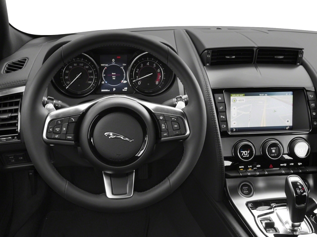 2018 Jaguar F-TYPE Pictures F-TYPE Coupe Auto 340HP photos driver's dashboard