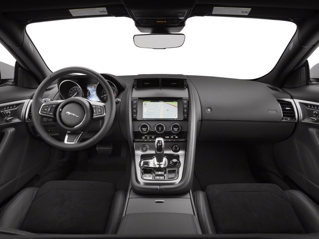 2018 Jaguar F-TYPE Base Price Coupe Auto 380HP Pricing full dashboard