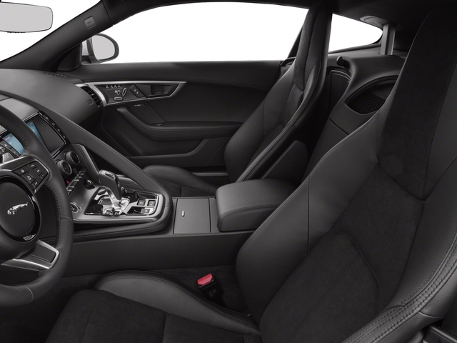 2018 Jaguar F-TYPE Base Price Coupe Auto 380HP Pricing front seat interior