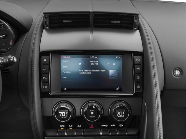 2018 Jaguar F-TYPE Pictures F-TYPE Coupe Auto 340HP photos stereo system