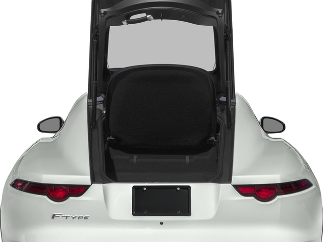 2018 Jaguar F-TYPE Base Price Coupe Auto 380HP Pricing open trunk