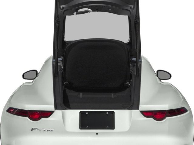 2018 Jaguar F-TYPE Pictures F-TYPE Coupe Auto 340HP photos open trunk