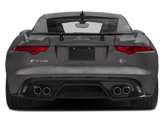 2018 Jaguar F-TYPE Pictures F-TYPE Coupe Auto SVR AWD photos rear view