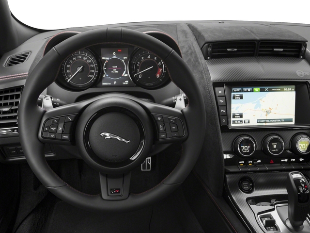 2018 Jaguar F-TYPE Pictures F-TYPE Coupe Auto SVR AWD photos driver's dashboard