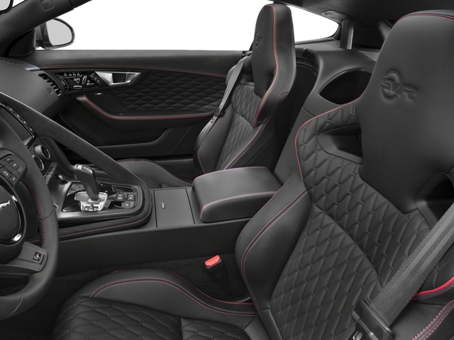 2018 Jaguar F-TYPE Pictures F-TYPE Coupe Auto SVR AWD photos front seat interior