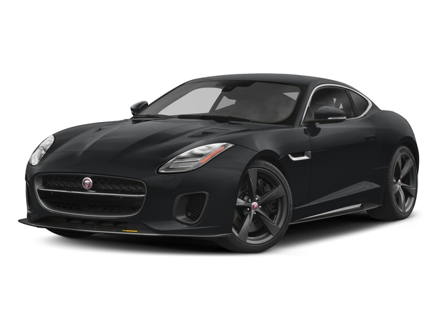 2018 Jaguar F-TYPE Pictures F-TYPE Coupe Auto 400 Sport photos side front view