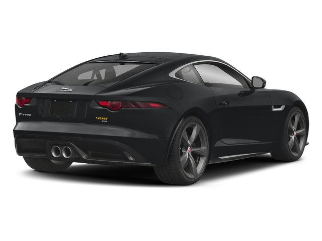 2018 Jaguar F-TYPE Pictures F-TYPE Coupe Auto 400 Sport photos side rear view