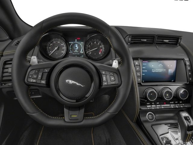 2018 Jaguar F-TYPE Pictures F-TYPE Coupe Auto 400 Sport photos driver's dashboard